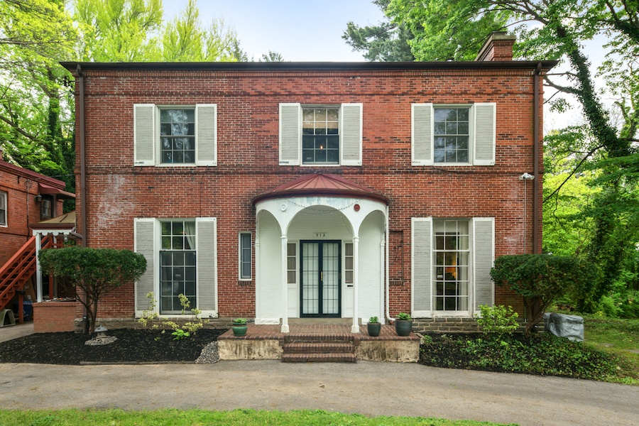 house for sale germantown moderne colonial front elevation