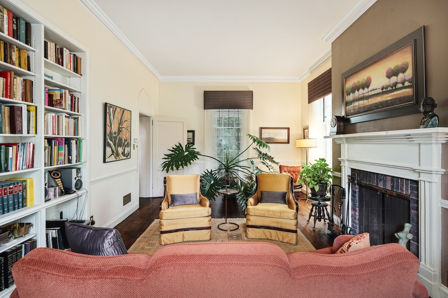 house for sale germantown moderne colonial living room