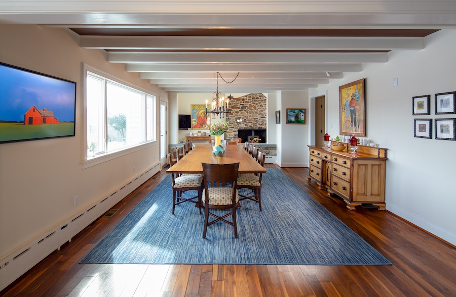 house for sale new hope boxwood studio dining room