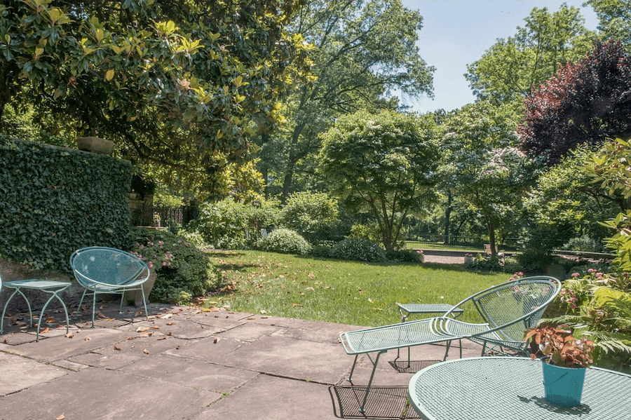 house for sale rydal english villa dining-room terrace and backyard