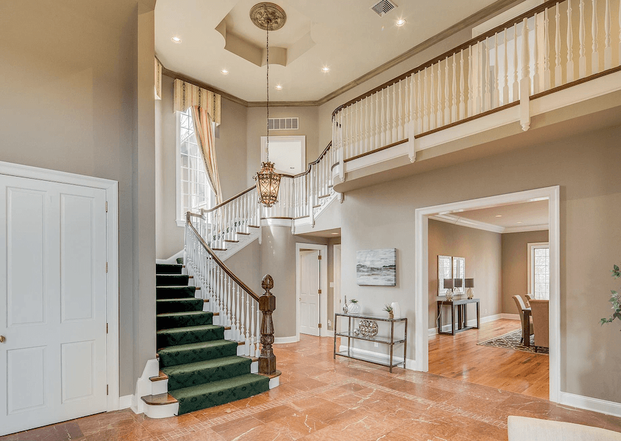 house for sale villanova expanded tudor foyer