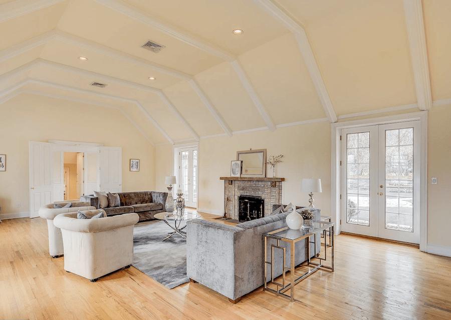 house for sale villanova expanded tudor great room