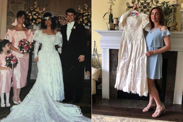 lost wedding gown preservation box besso