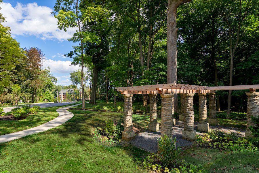 maybrook apartment profile walking trail