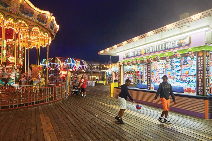 new jersey shore attractions