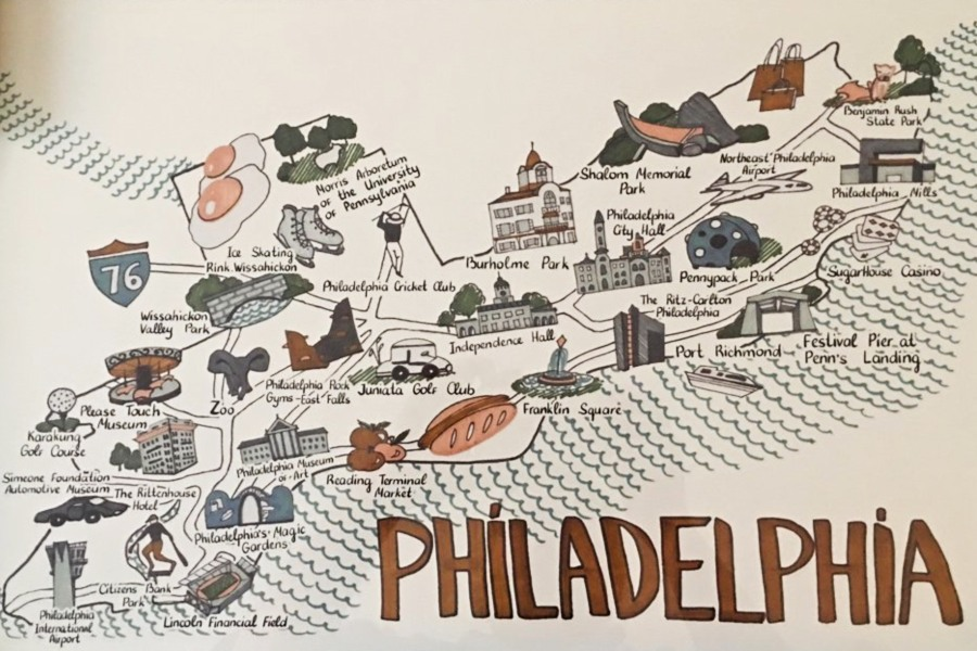 philly map