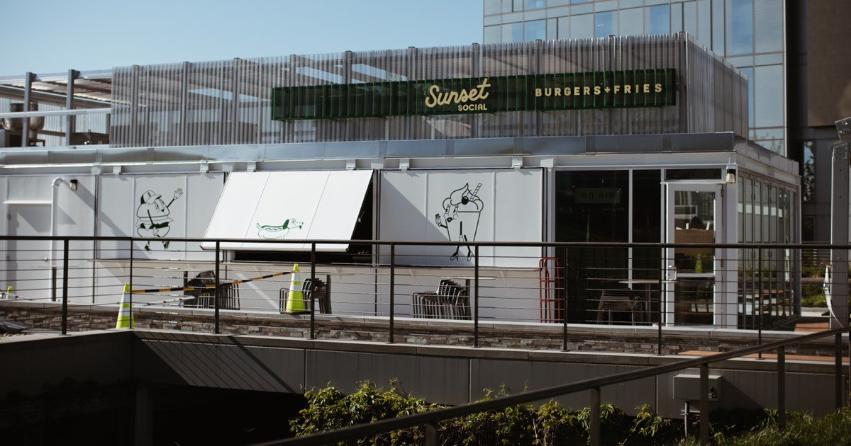 Sunset Social A Rooftop Bar And Burger Shack Is About To