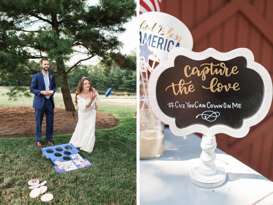 Patriotic wedding Baggo