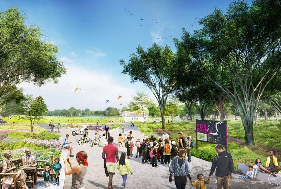 FDR Park master plan