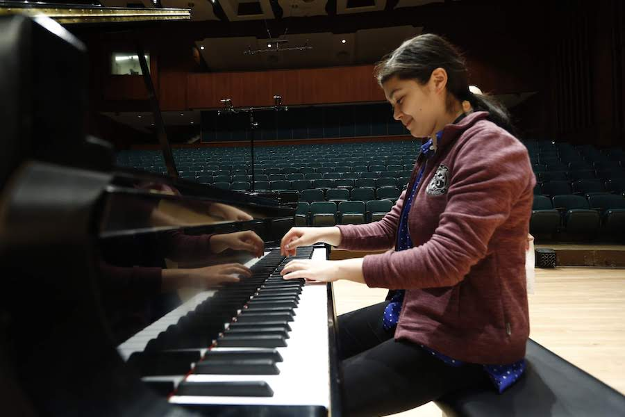 Lower Merion's Avery Gagliano Hopes to Win Cliburn Junior Competition
