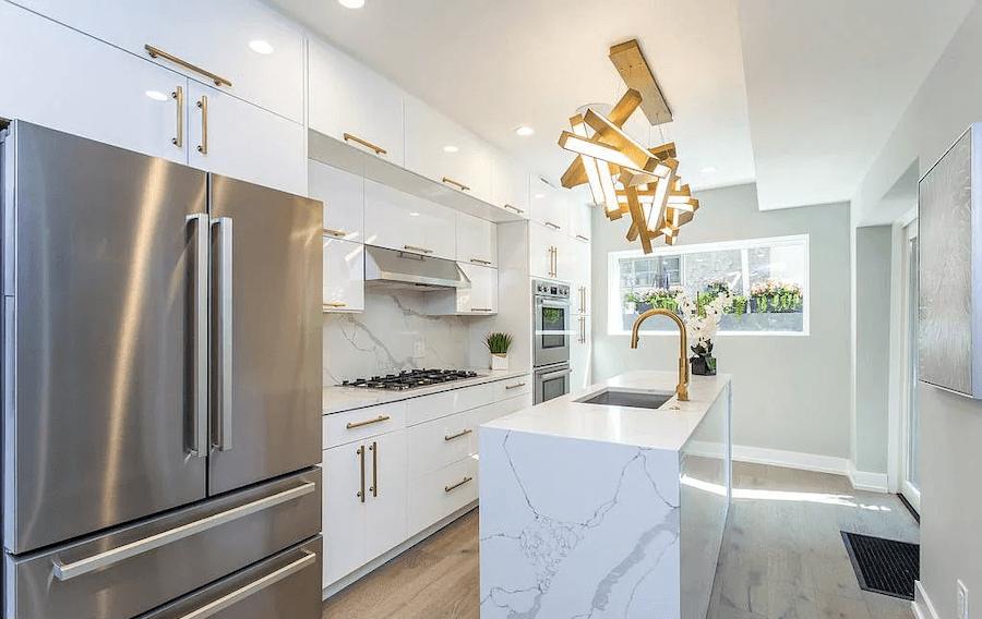 house for sale bella vista rebuilt row kitchen