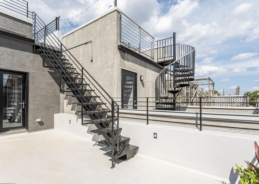 house for sale bella vista rebuilt row roof deck