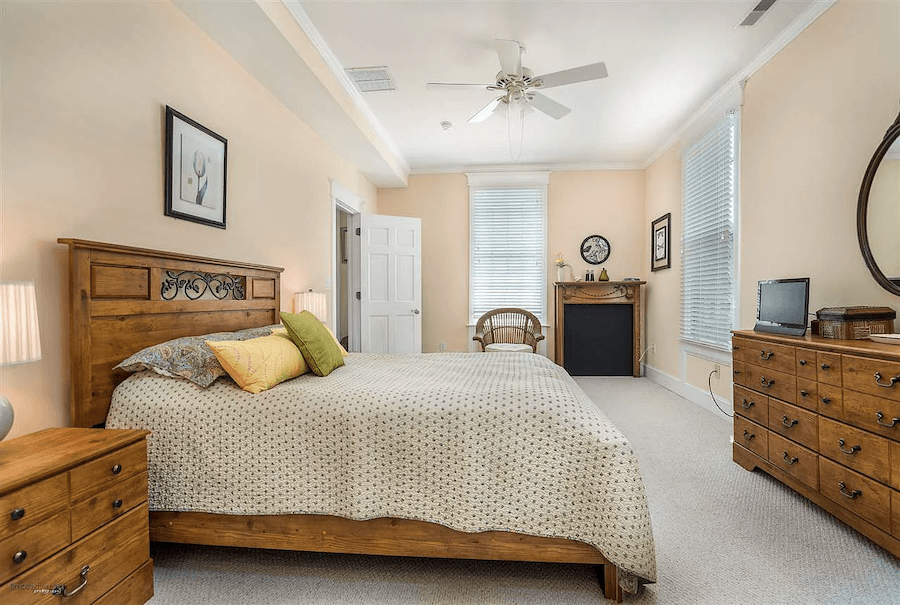 house for sale cape may painted lady bedroom