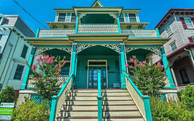 house for sale cape may painted lady exterior front