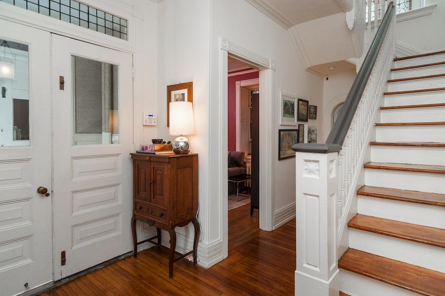 house for sale germantown tulpehocken victorian foyer