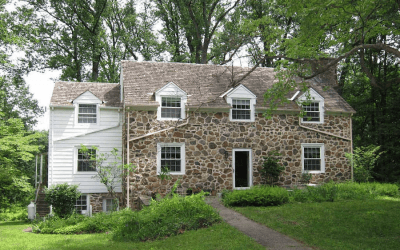 house for sale glen mills rehab ready colonial exterior front