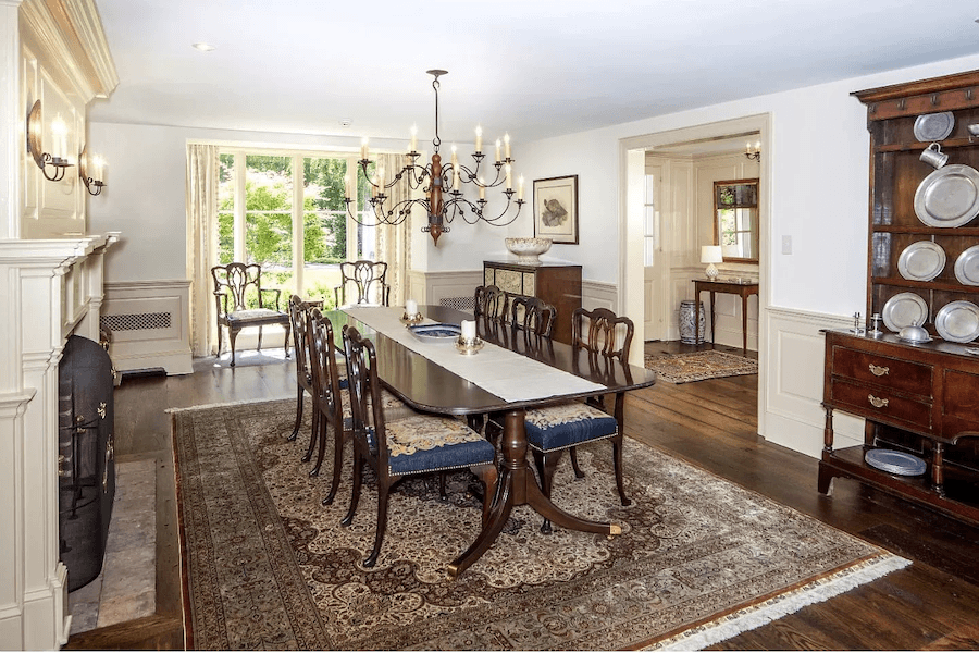 house for sale lower gwynedd expanded farmhouse formal dining room