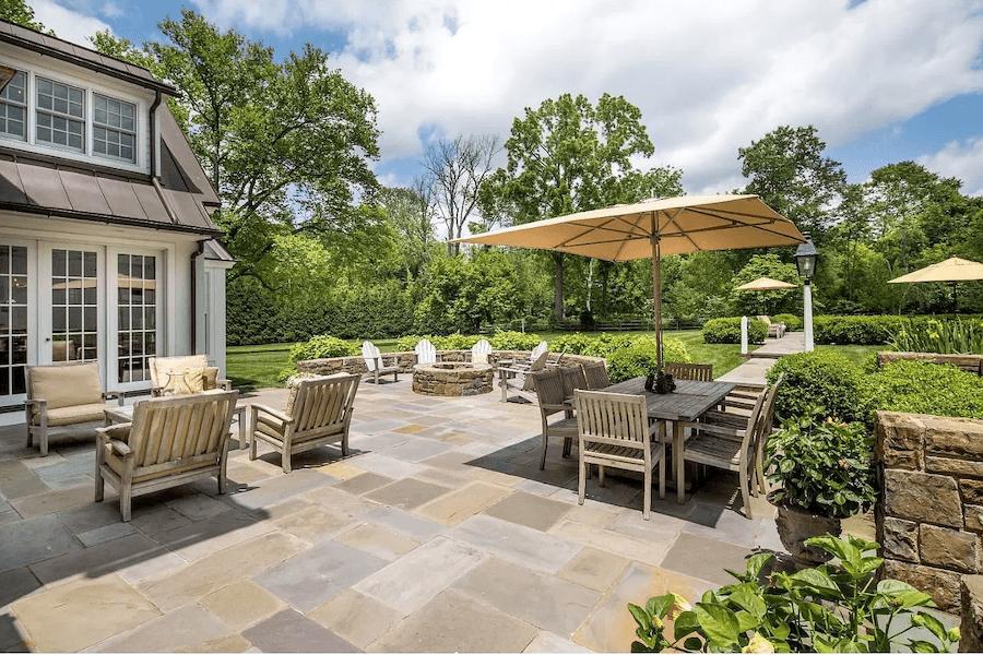 house for sale lower gwynedd expanded farmhouse patio