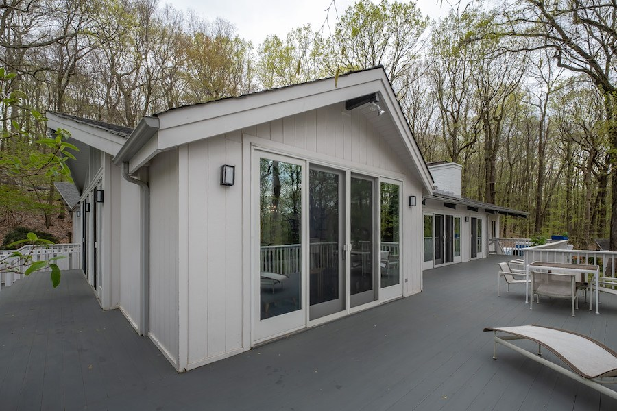 house for sale new hope contemporary deck