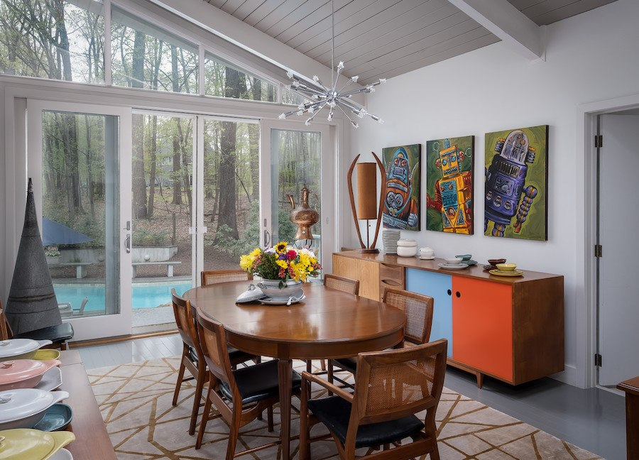 house for sale new hope contemporary dining room