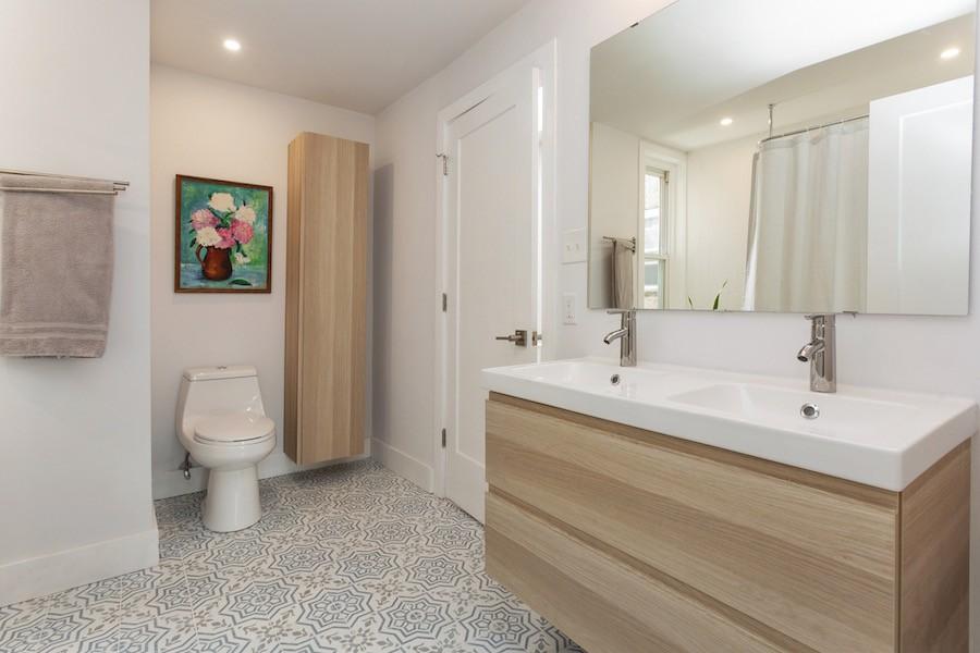 house for sale point breeze rowhouse rehab bathroom