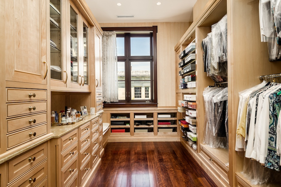 house for sale society hill moderne mansion master bedroom closet