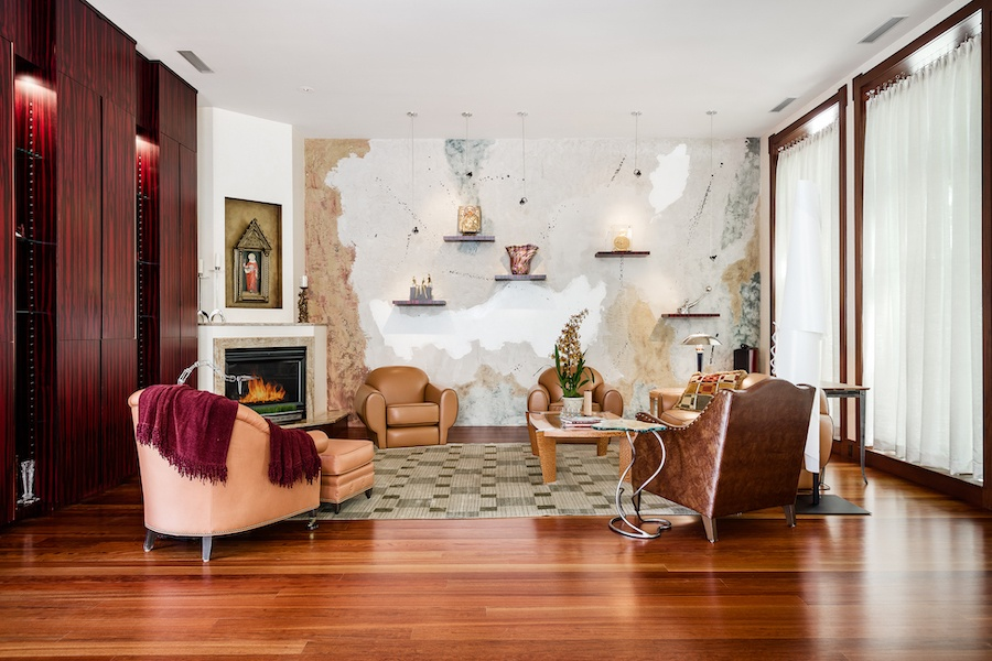 house for sale society hill moderne mansion living room