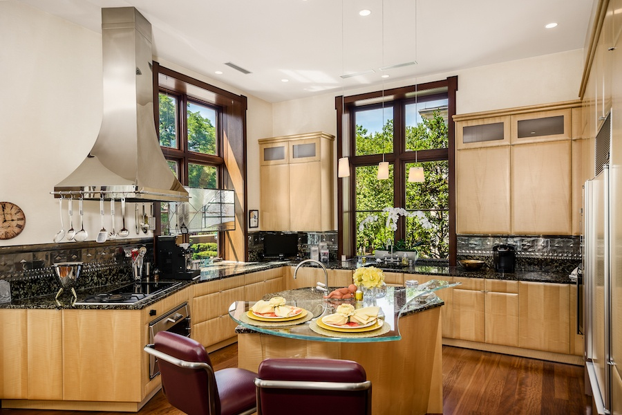 house for sale society hill moderne mansion kitchen