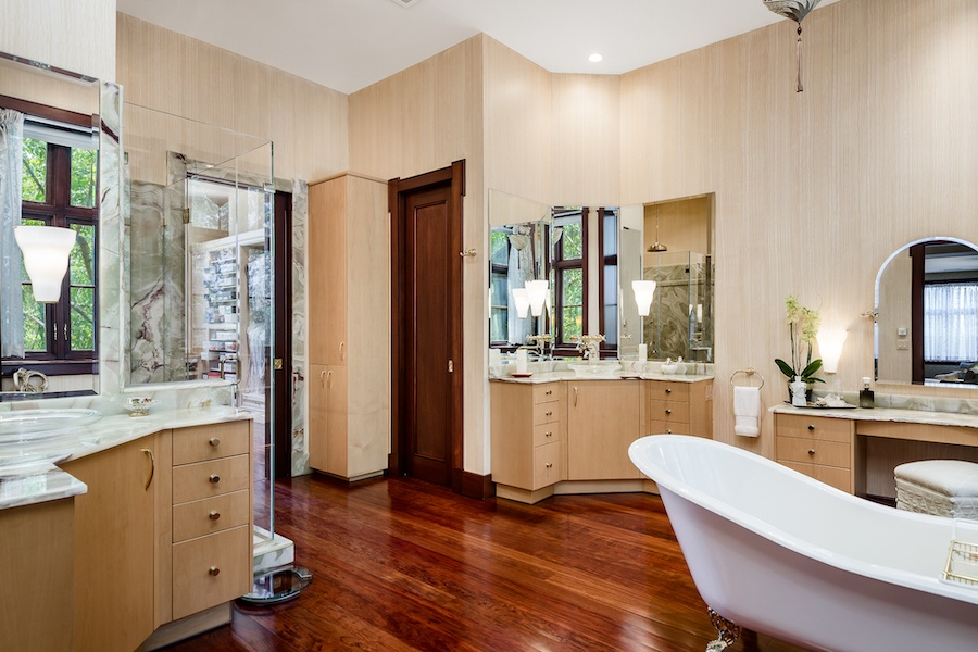 house for sale society hill moderne mansion master bathroom