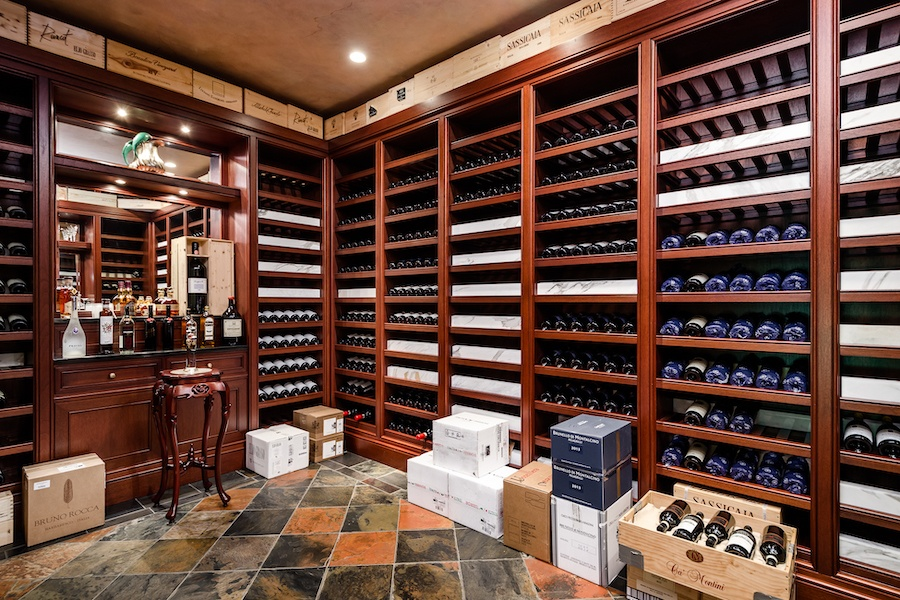 house for sale society hill moderne mansion wine cellar