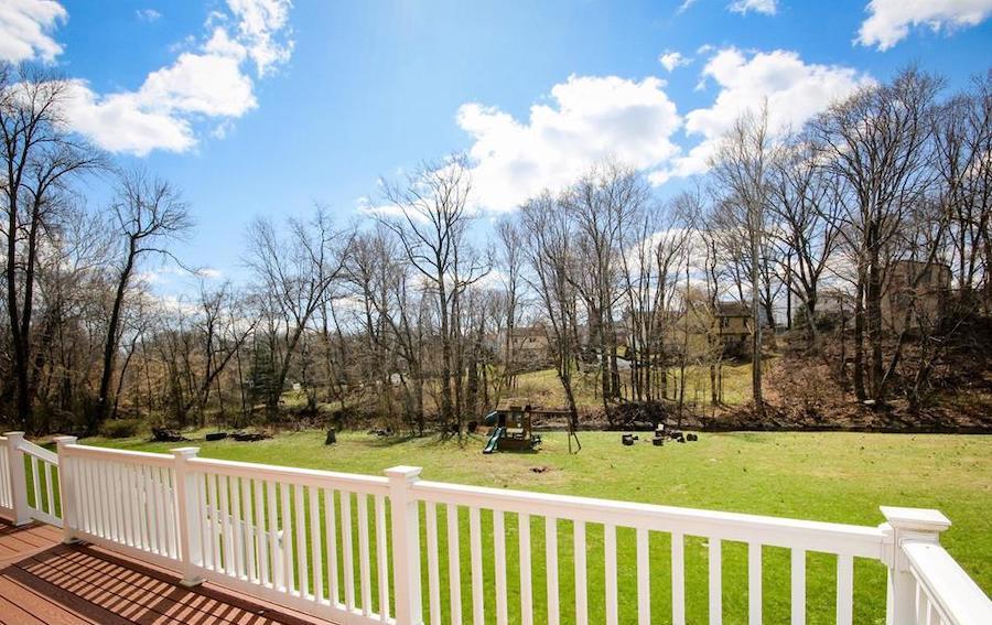 house for sale wallingford creekside colonial backyard