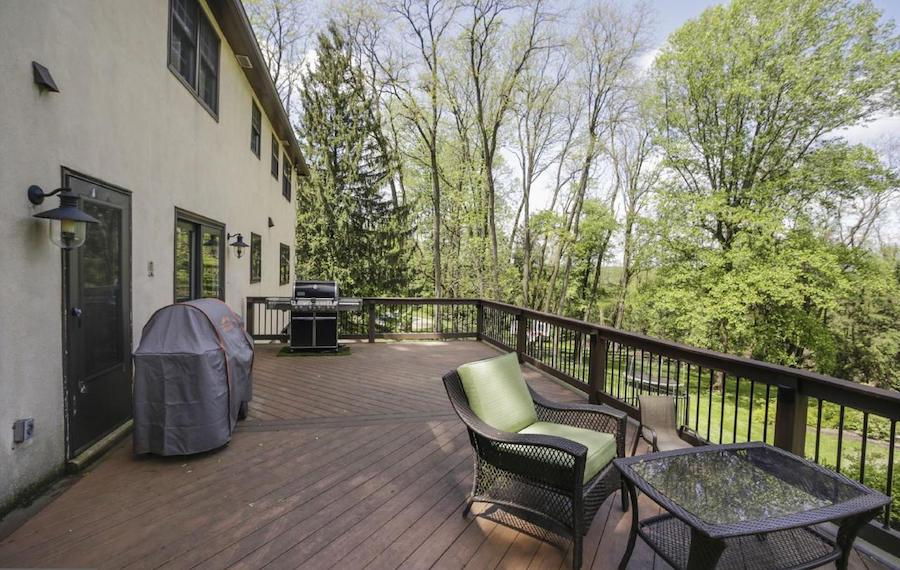house for sale villanova french colonial deck