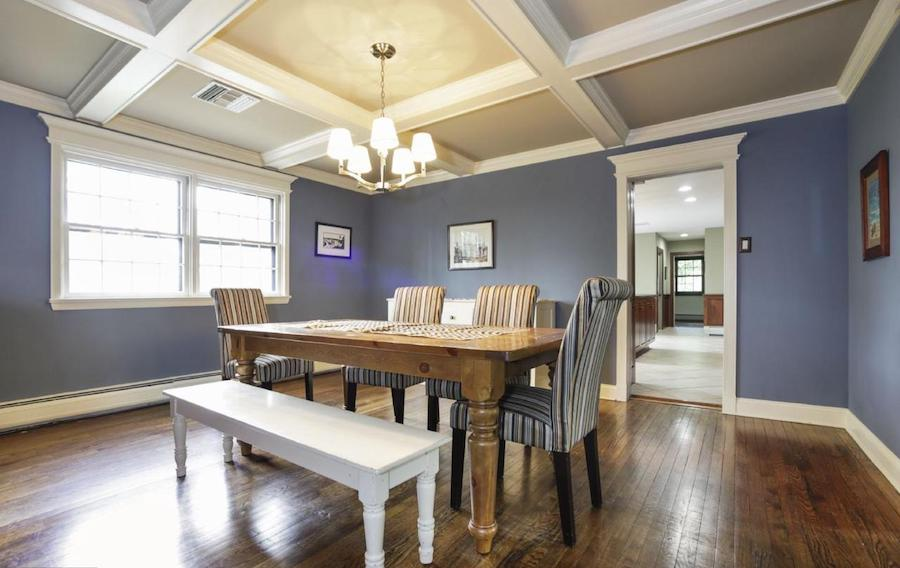 house for sale villanova french colonial dining room