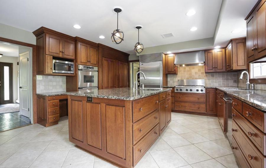 house for sale villanova french colonial kitchen