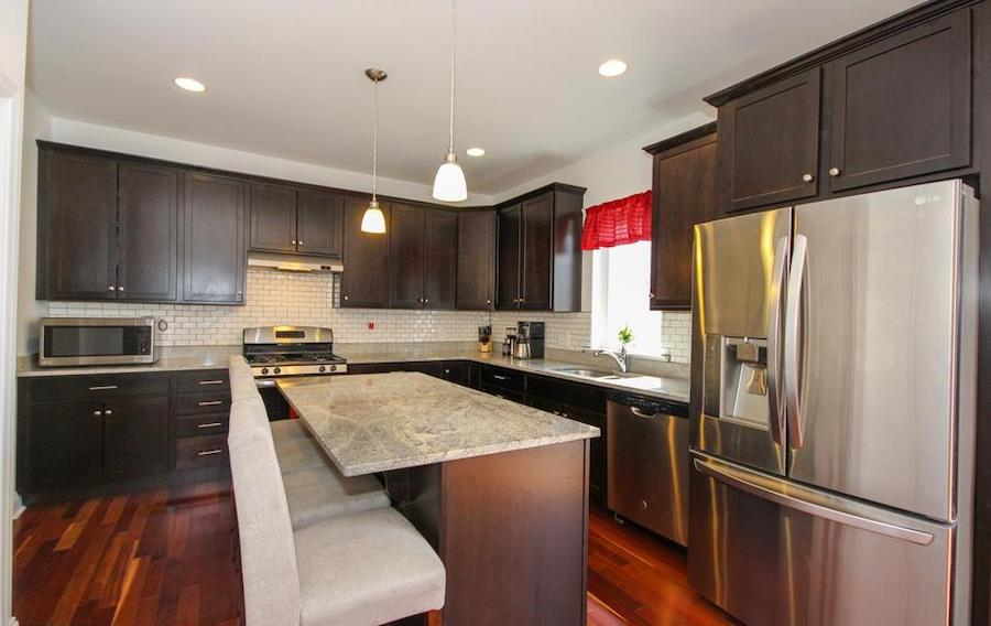 house for sale wallingford creekside colonial kitchen