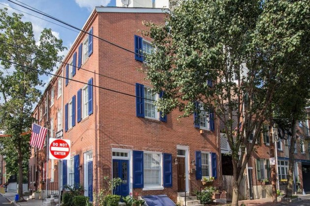 house for sale wash west corner federal house exterior