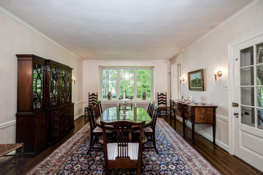 house for sale wyndmoor colonial cape dining room