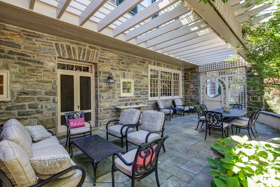 house for sale wyndmoor colonial cape rear terrace