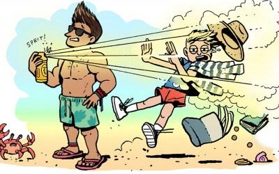 jersey shore beach etiquette