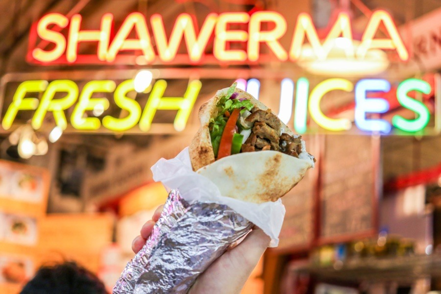 Shawarma philadelphia kamals reading terminal