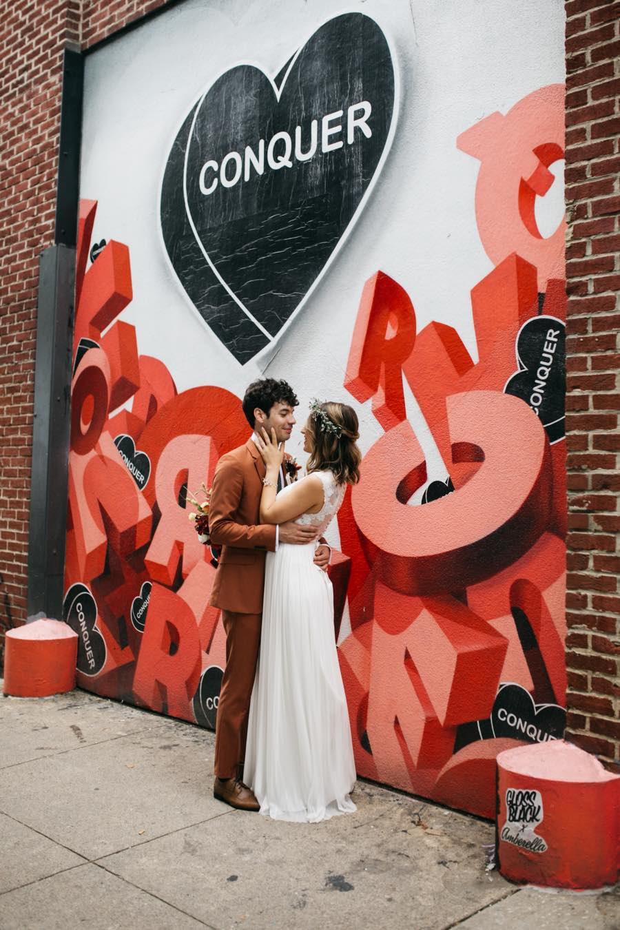 Philadelphia bride and groom portraits