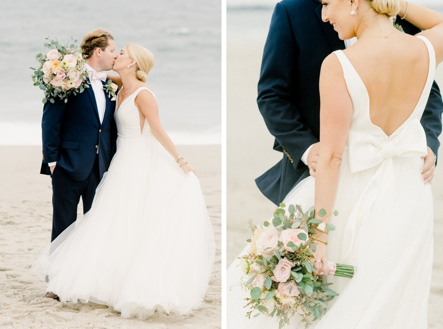 Cape May bride and groom