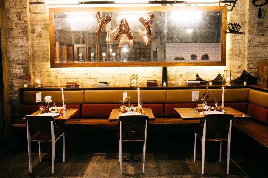 La Colombe tables