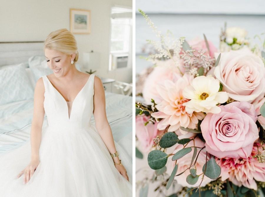 Cape May wedding bride