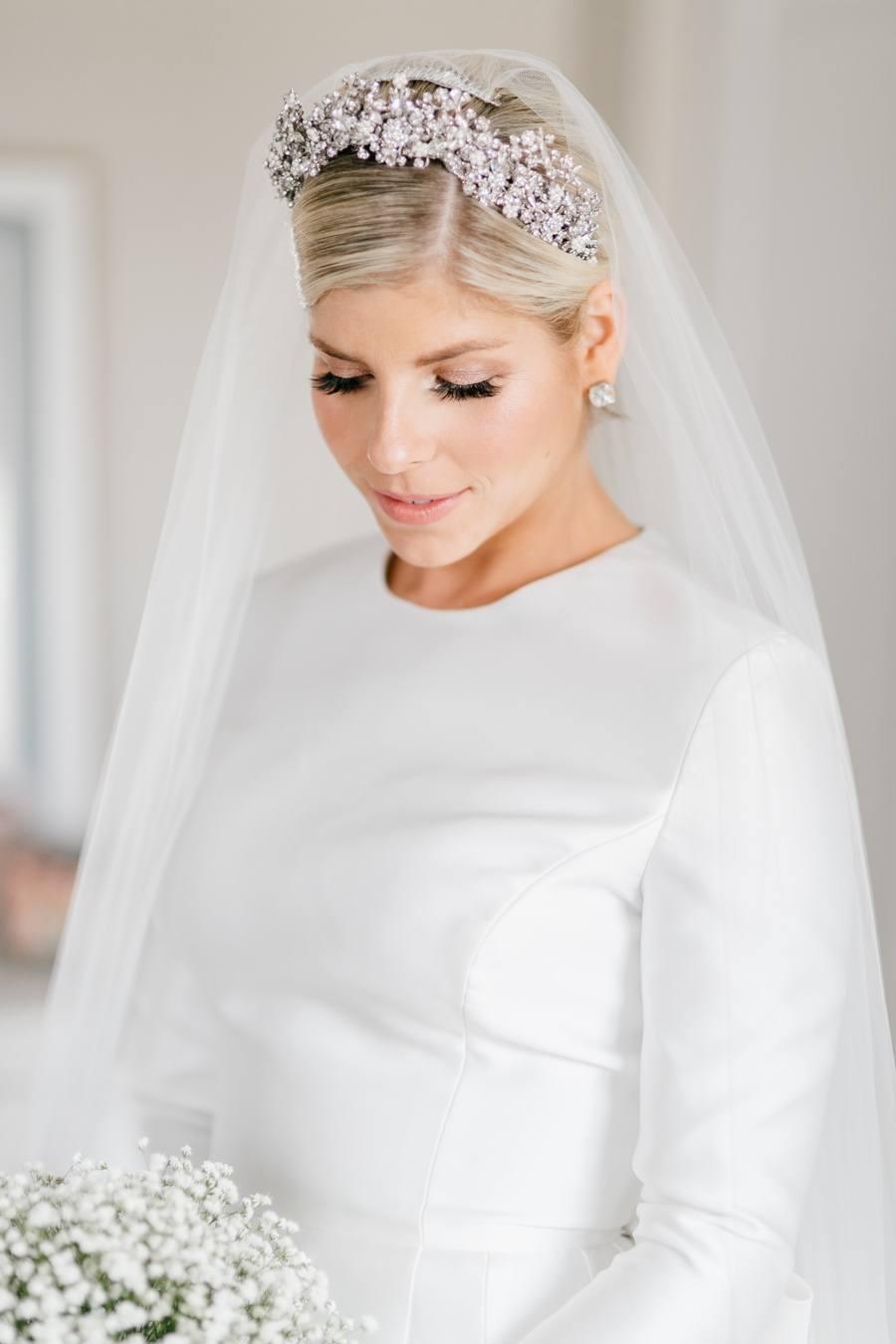 Bride diamond headpiece