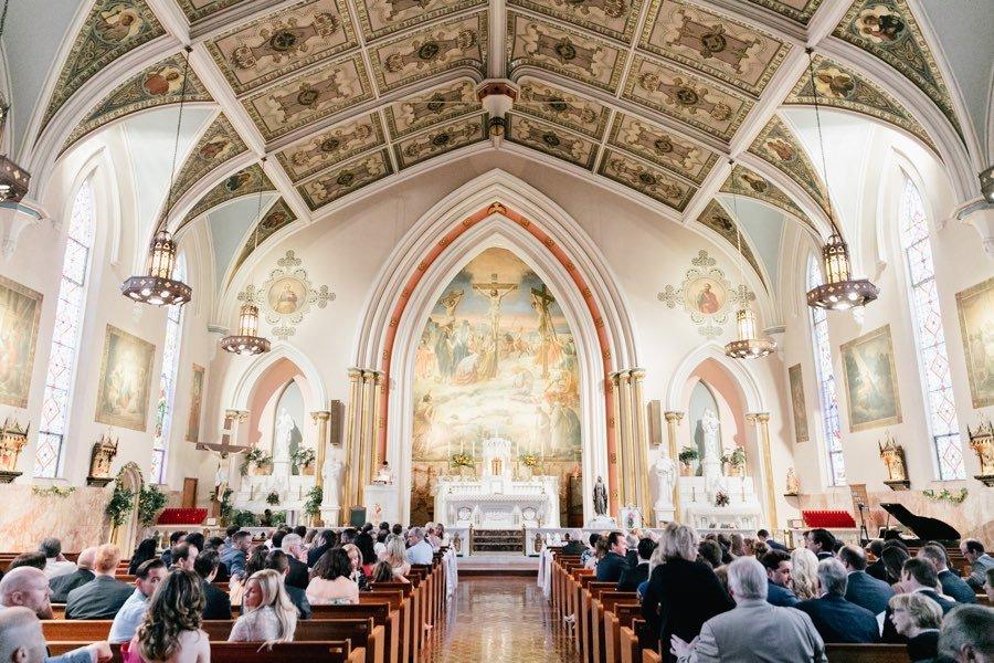 St. Paul Parish wedding
