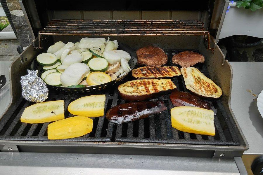 grilled veggie recipes