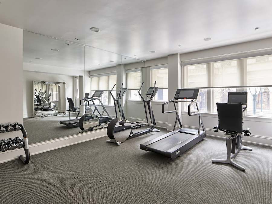 aka rittenhouse renovation 2019 fitness center