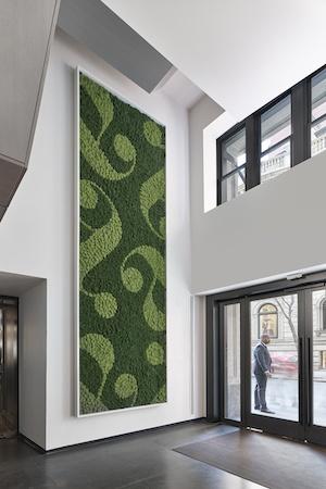 aka rittenhouse renovation 2019 green wall