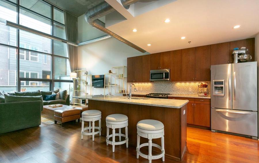 condo for sale hawthorne loft condo kitchen